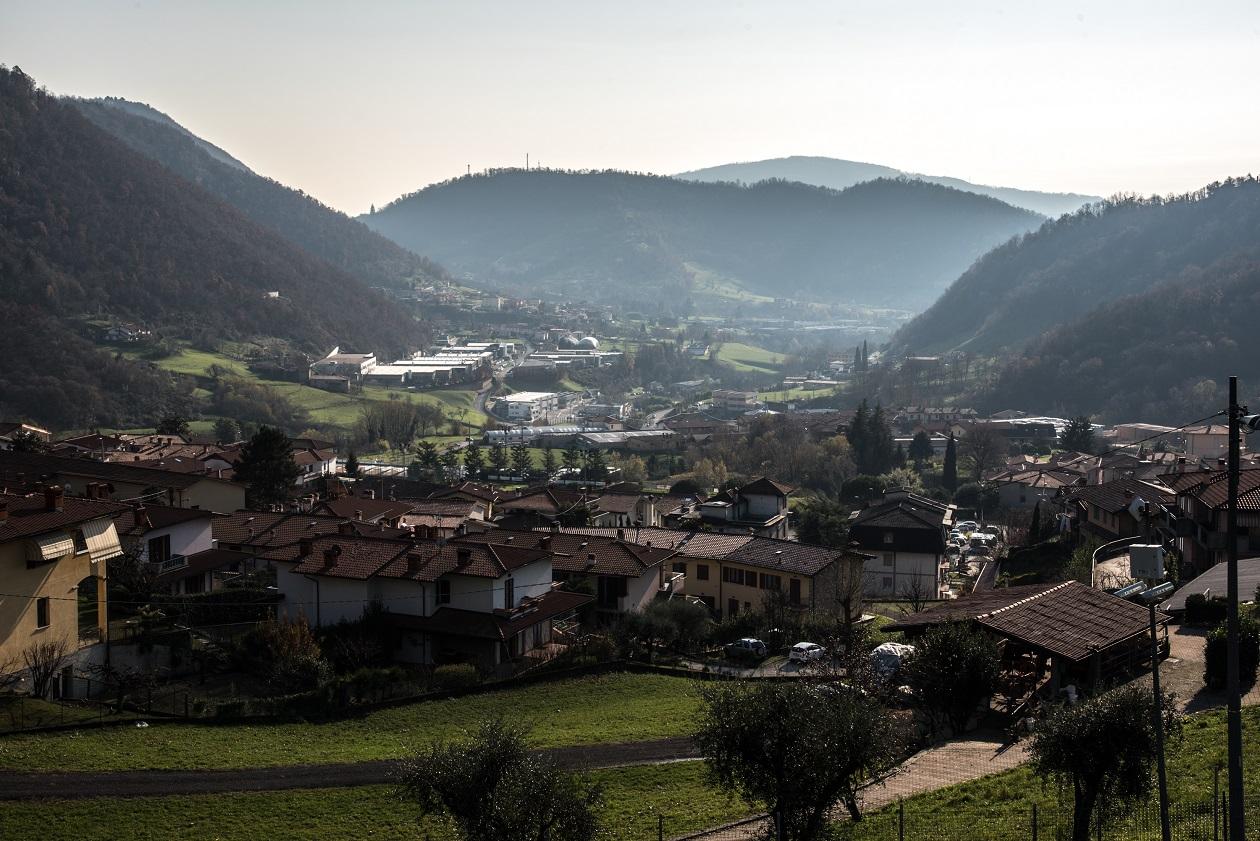 Veduta della Rubber Valley. © Stefania Prandi