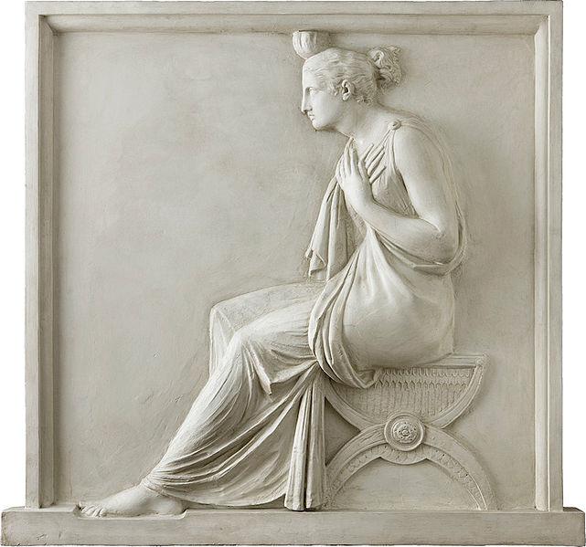 Antonio Canova, La Carità,1792, Milano, Gallerie d'Italia, Piazza della Scala,Collezione Fondazione Cariplo, gesso, 123 x 132cm.