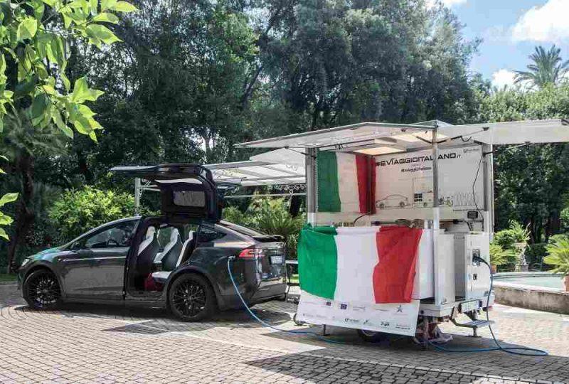 EVIAGGIOITALIANO ed il Future Trailer by VS Veicoli Speciali ingegnerizzato da ev-now in Italia