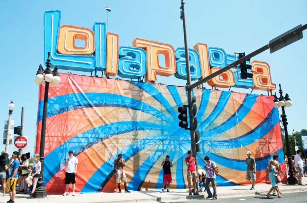 Lollapalooza billboard