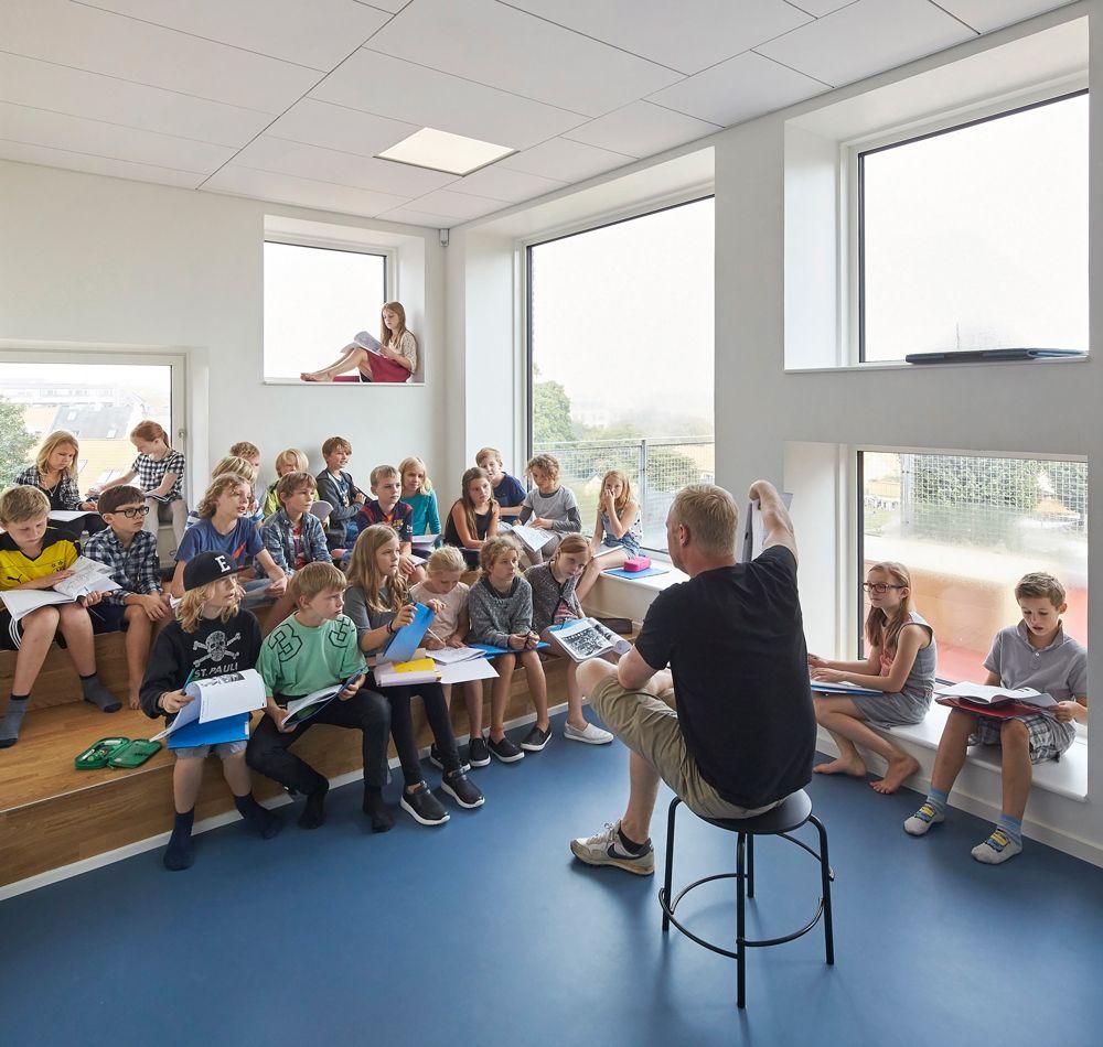 Henning Larsen, Frederiksbjerg School in Aarhus, 2016