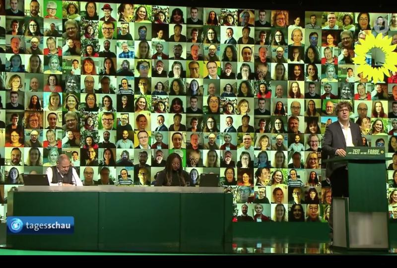 Grüne tedeschi - Assemblea di approvazione del programma di base 2021. 20 novembre 2020