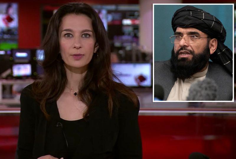 BBC riceve una chiamata in diretta dal portavoce dei Talebani, Muhammad Suhail Shaheen